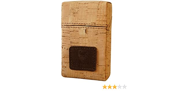 GERMANUS Caja para Cigarrillos de Corcho