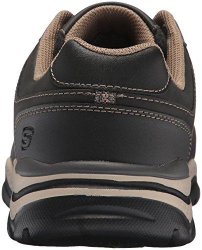 Rovato Sneaker Skechers Taupe Uomo Texon Black Nero v4zzCP