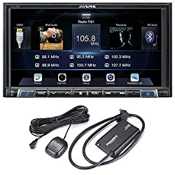 Alpine Ilx-207 7-inch Mech-less Apple Car Play Android Auto Audiovideo System With Siriusxm Satellite Radio Tuner