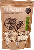 Natural Fire and Charcoal Starters Really Best Comfortable Packaging 24 pcs in pack (24 Bonfires)