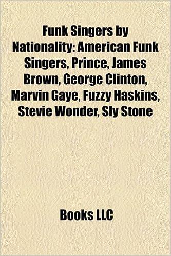 Funk Singers by Nationality: American Funk Singers, Prince