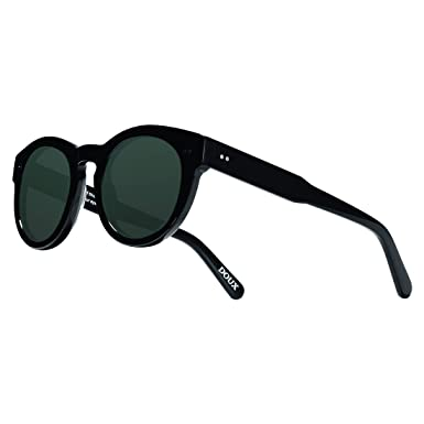 225a3f944f DOUX Mens Polarized Sunglasses UV400 Protection Ultra-Light Vintage  Multiple Color Oversize For Unisex A
