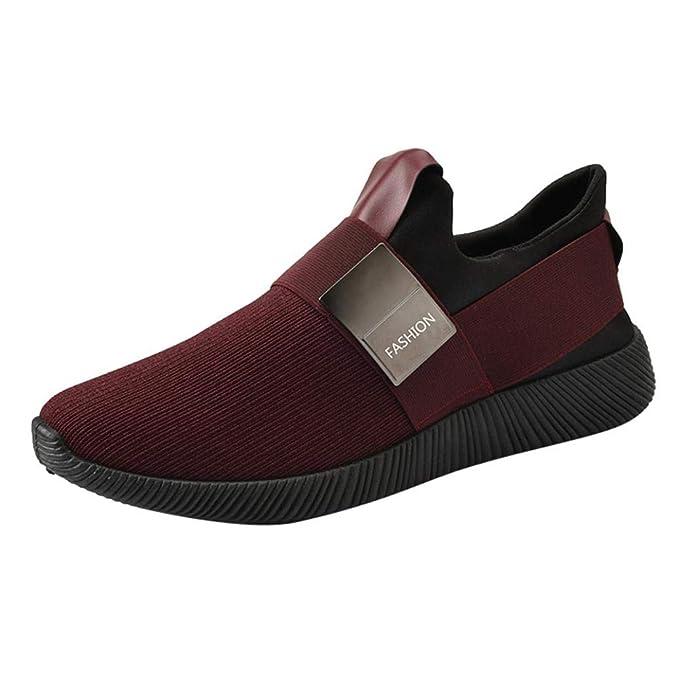WWricotta LuckyGirls Zapatillas de Correr Hombre Originales Casual Moda Cómodas Calzado para Deporte Zapatos con Cordones Bambas de Running Deportivas ...