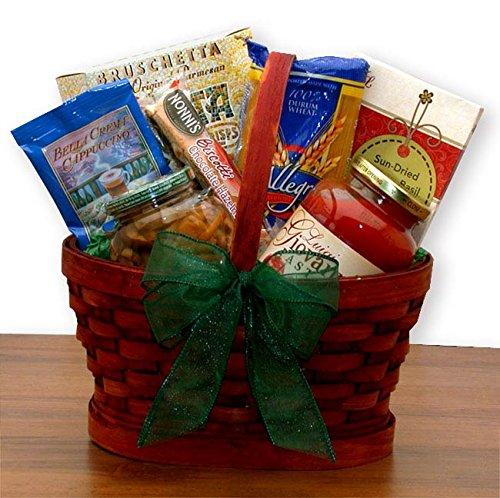 - Mini Italian Dinner For Two Gourmet Gift Basket