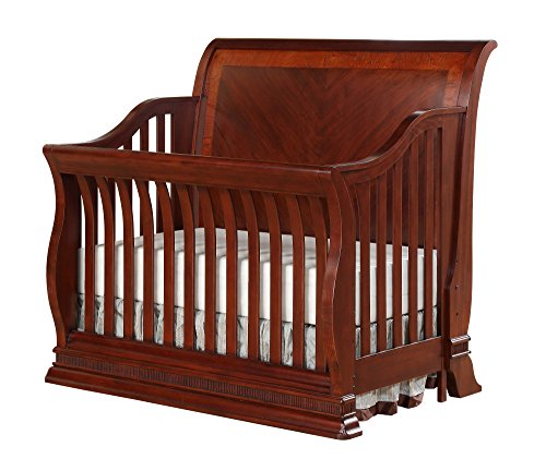 Munire Portland 4-in-1 Convertible Crib Cherry
