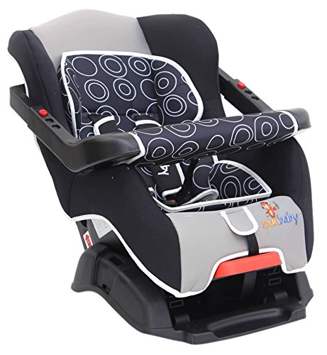 Sunbaby Inspire Car Seat with Bumper (Black)