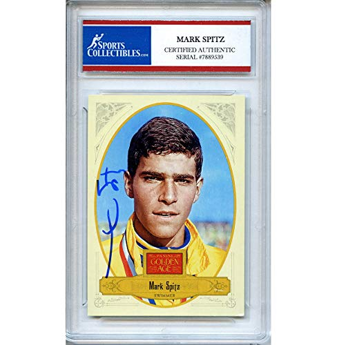 Mark Spitz Autographed Signed 2012 Panini Trading Card - Certified Authentic