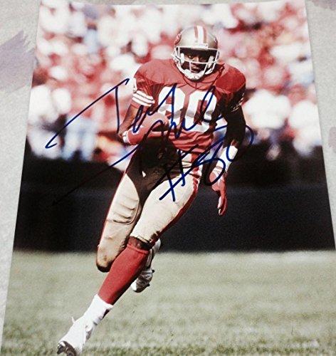 - Autographed Jerry Rice Photograph - VINTAGE SF LEGEND 11X14 COA B - Autographed NFL Photos