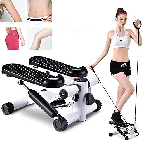 Why Should You Buy Pevor Mini Stepper Machine, Stepper Exercise Machine with Resistance Bands and LC...