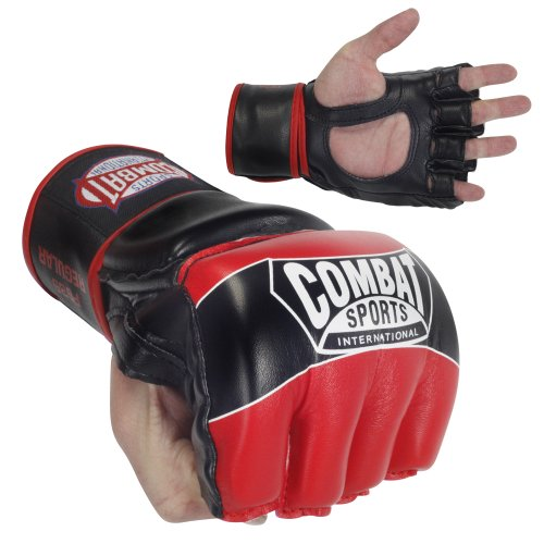 Combat Sports Pro-Style MMA Gloves Red Large