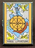 Wheel Of Fortune Tarot Cigarette Case, ID Wallet USA Made
