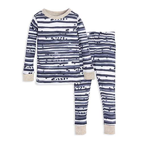 99baa1c72 Burt's Bees Baby Unisex Baby Pajamas, Tee and Pant 2-Piece PJ Set,