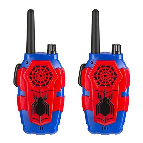 Marvel Spiderman Homecoming FRS Walkie Talkies Kid Friendly Static (Marvels Kids)