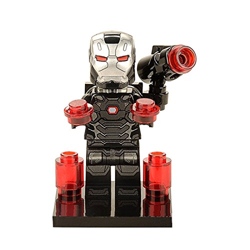 New 2017 War Machine Iron Man Superhero Minifigure for LEGO Marvel Comics Action Figure Building Blocks