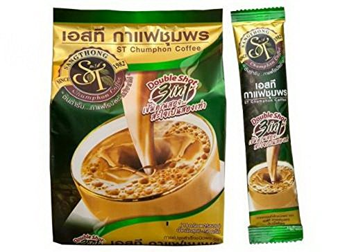 2017 TOP BRAND AWARDS Premix Instant Coffee Double Shot formulation 100% Robusta, Green