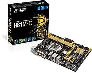 Asus H81M-C Placa base (Socket 1150, Intel H81, DDR3, S-ATA 600, Micro ATX, PCI Express 2.0, VGA, USB 3.0)