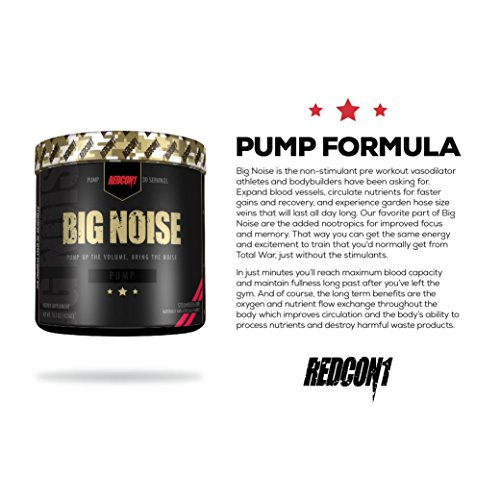 Redcon1 Big Noise Pump Formula - 30 Servings (Blue Lemonade)
