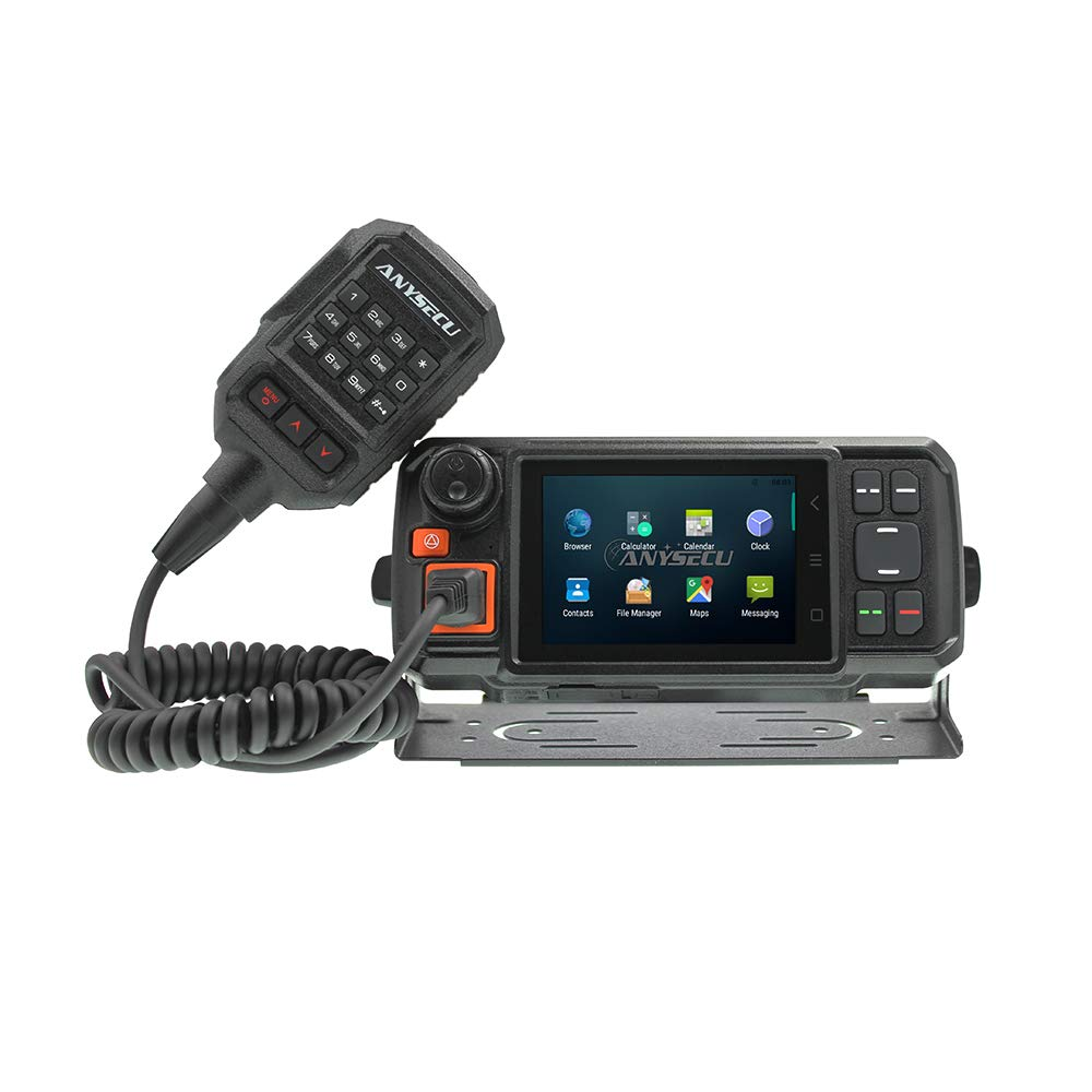 ANYSECU 4G-W2 N60 3G 4G LTE FDD Mobile Radio IP Network PTT Radio Work with ZELLO Real PTT