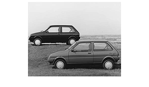 Amazon.com: 1989 Austin Metro Red Hot & Jet Black Automobile Photo Poster: Entertainment Collectibles