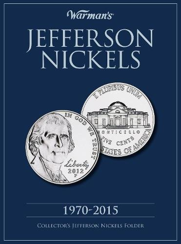 Jefferson Nickels 1970-2015: Collector's Jefferson Nickels Folder