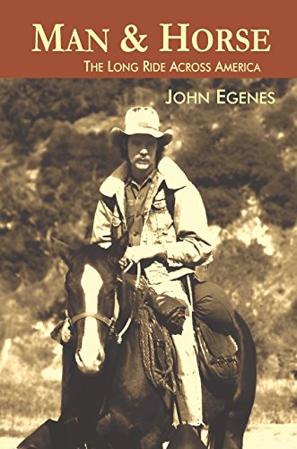 Man & Horse: The Long Ride Across America cover