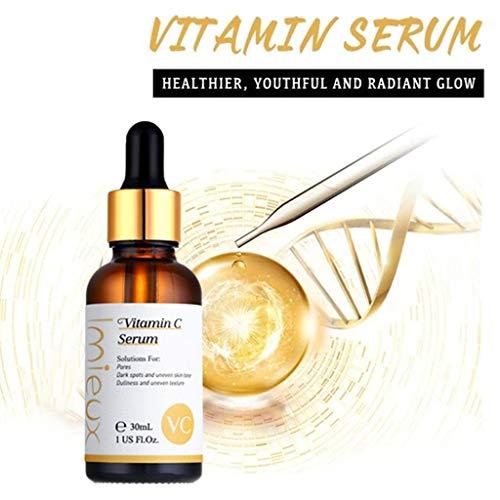51H9N0Ic6wL - kitt Facial Vitamin Serum 30ml, Dark Spots Corrective Moisturizing Firming Repair Scar Facial Serum - Anti-Aging, Whiten, Brighten Skin (Multicolor)