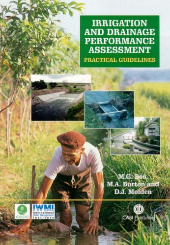 Irrigation And Drainage Performance Assessment  Practical Guidelines  Cabi