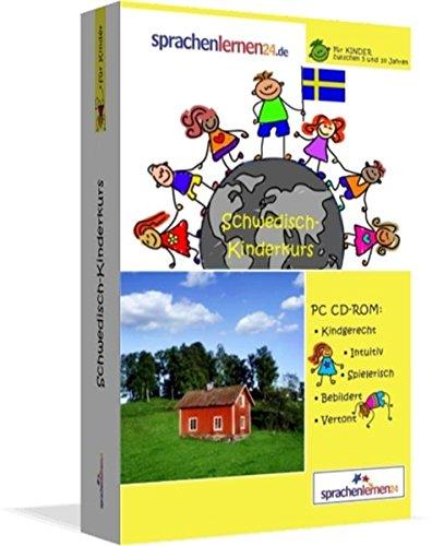 Schwedisch-Kindersprachkurs von Sprachenlernen24: Kindgerecht bebildert und vertont für ein spielerisches Schwedischlernen. Ab 5 Jahren. PC CD-ROM für Windows 10,8,7,Vista,XP / Linux / Mac OS X