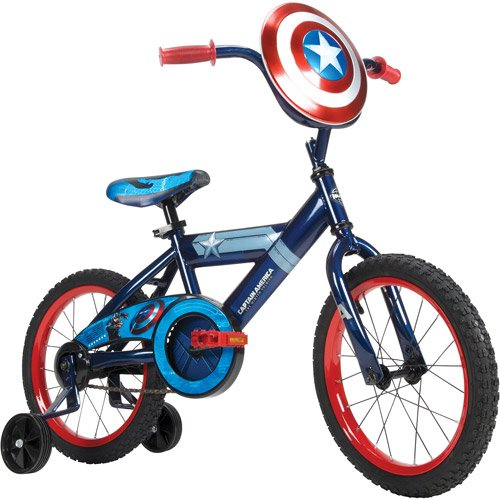 16 Huffy Captain America Boys Bike Kids Bike Blue B00jrs758g