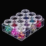 Blulu Clear Bead Organizer Bead Storage
