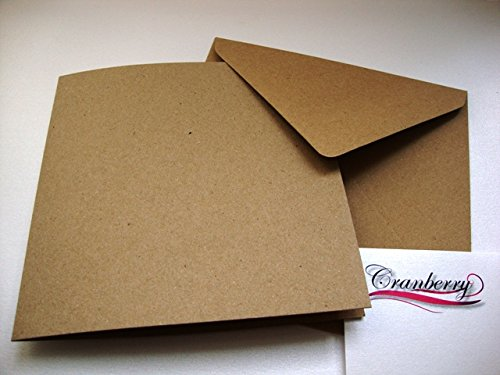 1 opinioni per Cranberry Card Company, 25 biglietti in cartoncino riciclato con buste, colore: