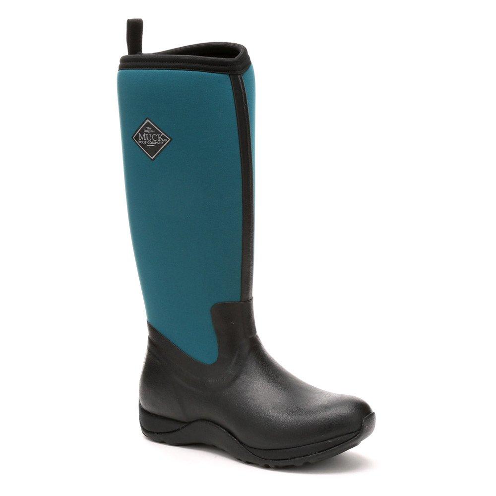 Muck Boot Women's Arctic Adventure Tall Snow Boot B01MYMRZVA 5 B(M) US|Black, Shaded Spruce