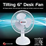 Connect IT 6-Inch Desk Fan