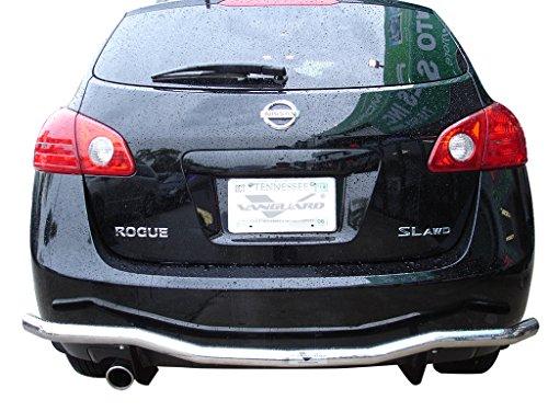 VANGUARD VGRBG-0936SS 2008-2015 Nissan Rogue Nissan Rogue Select Rear Bumper Guard Single Tube S/S