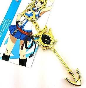 Fairy Tail Lucy celestial espíritu Gate Piscis Golden