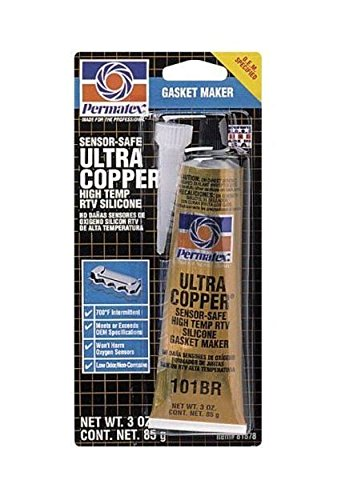Permatex 81878 3 Oz Ultra Copper RTV Silicone Gasket Maker by Permatex