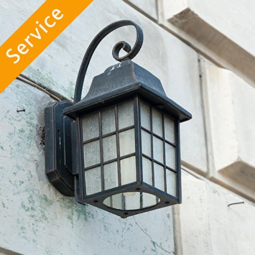 Exterior Light Fixture Installation - Replacement - Under 10 ft. - Up to 2 Light Fixtures