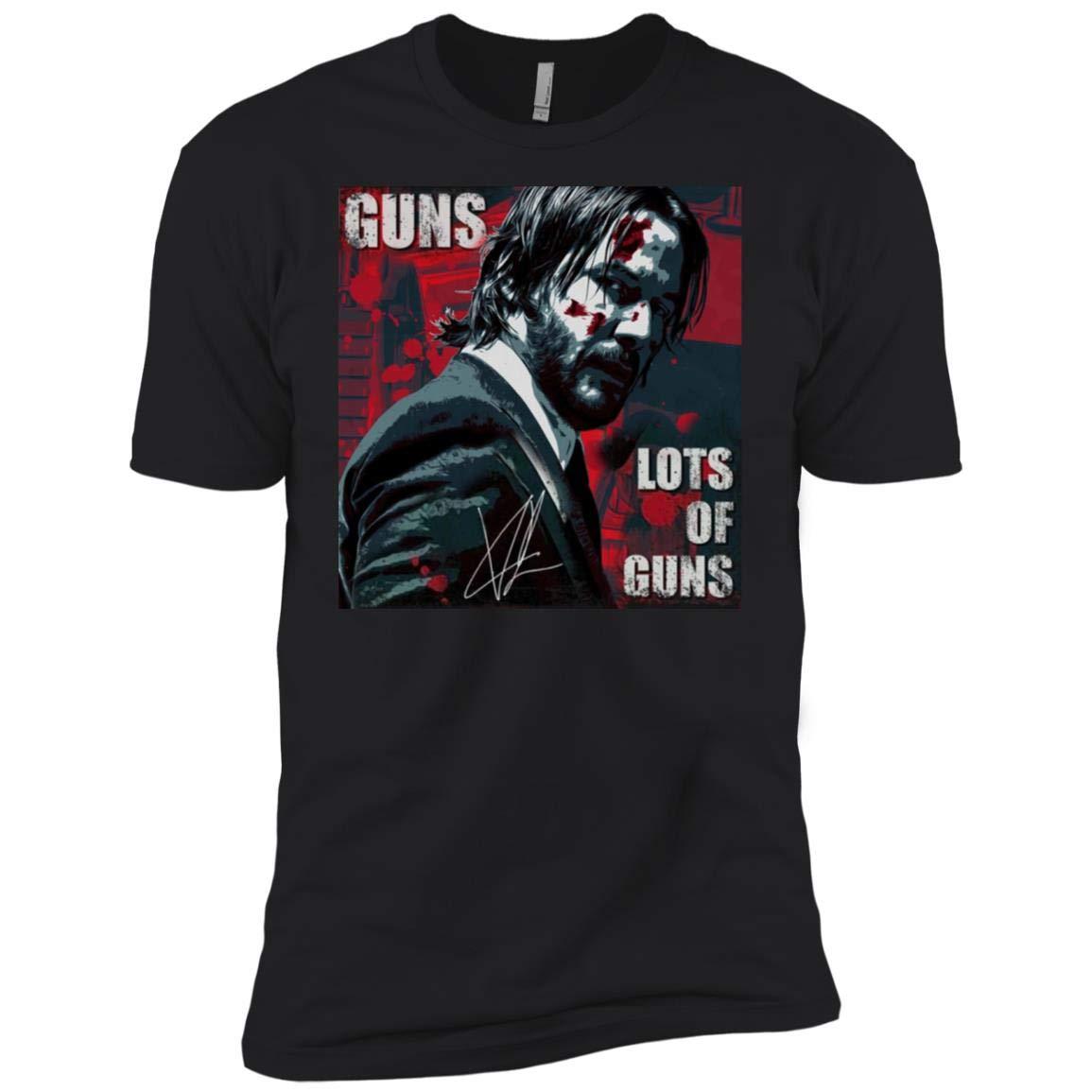 Signature Of John Wick Guns Lots Of Guns Shirt Gift Idea For Fans