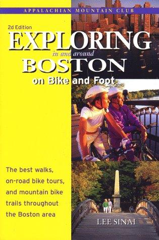 Exploring Boston Bike & Foot, - Map Lee Massachusetts