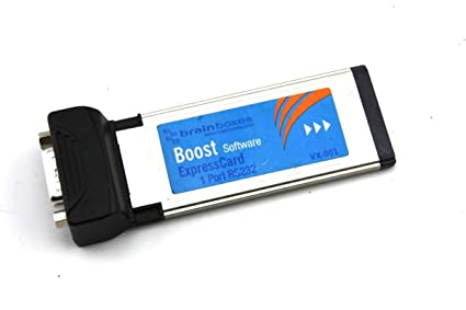 BRAINBOXES EXPRESSCARD 1 PORT RS232 WINDOWS 10 DOWNLOAD DRIVER