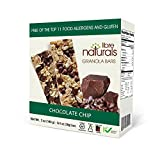 Nut Free, Gluten Free >> Chocolate Chip Vegan Granola Bar - Libre Naturals, 28 gram, 5 pack x 6 (30 Bars)