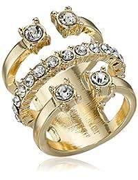 BCBGeneration Crystal Three-Part Ring