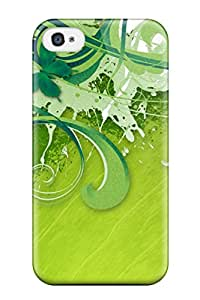 Green Vector Hdtv Feeling Iphone 4/4s On Your Style Birthday Gift Cover Case 1134421K96484635