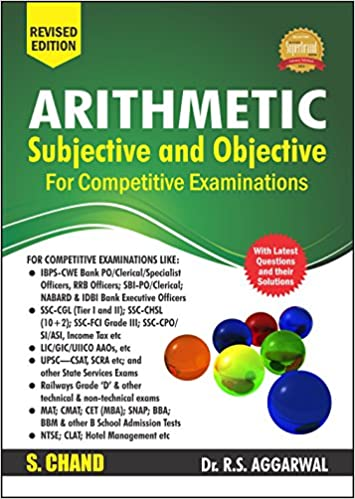 Buy Arithmetic Subjective and Objective for Competitive Examinations