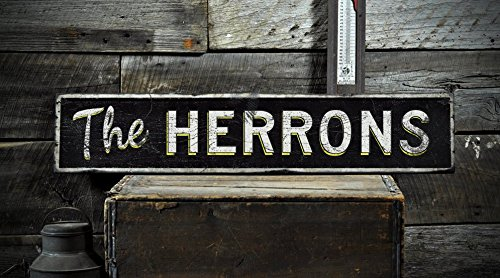 the-herrons-custom-distressed-family-name-vintage-wooden-sign-1125-x-60-inches