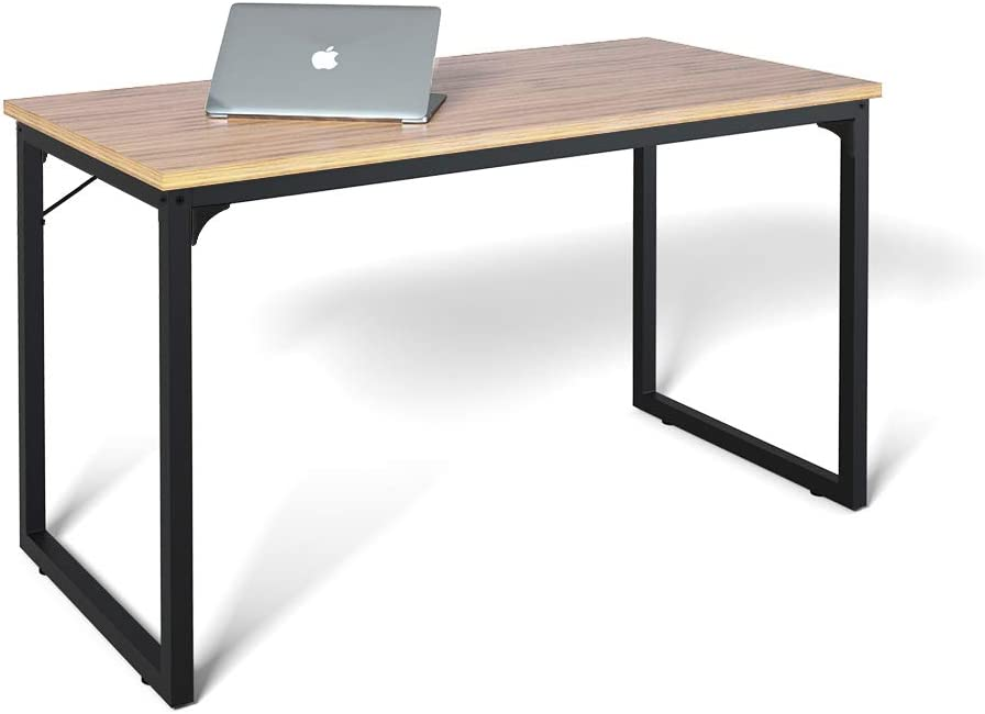 "Computer Desk 39"", Modern Simple Style Desk for Home Office, Sturdy Writing Desk, Coleshome, Walnut"