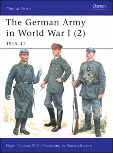 Book The German Army in World War I (2): 1915-17 (Men-at-Arms)