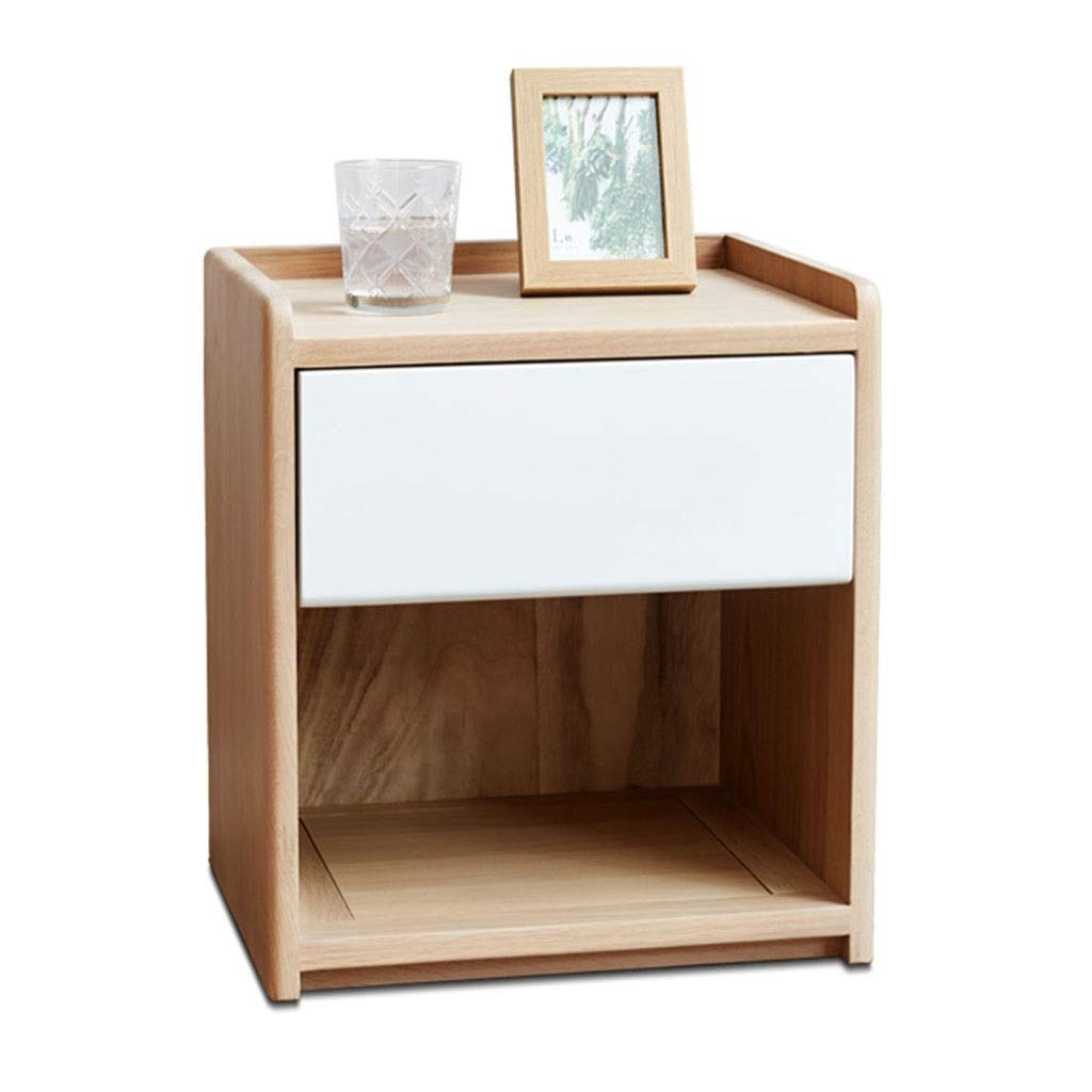 Amazon.com: Furniture Nightstands Solid Wood Bedside Table ...