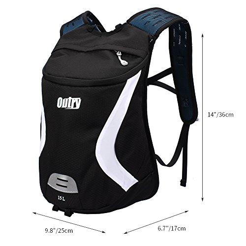 OUTRY Lightweight Backpack 15L Daypack