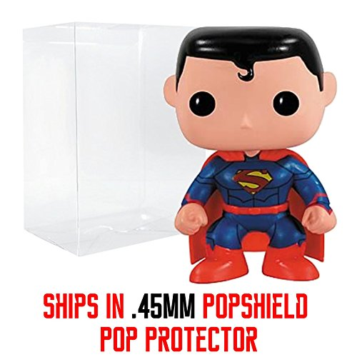 Funko Pop! DC Heroes: New 52 Superman PX Exclusive Vinyl Figure - .45mm Pop Protector Included (Justice League Black Canary And Green Arrow)